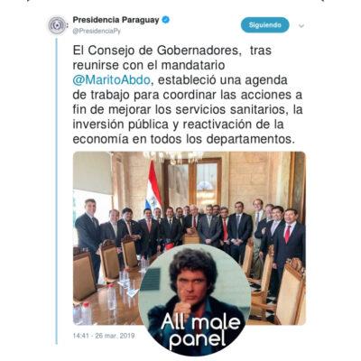 Presidencia Paraguay - Gobenadores 2019