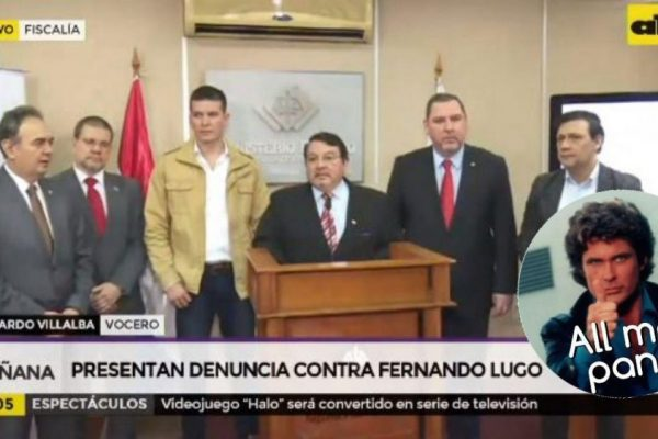Presentan denuncia contra Fernando Lugo