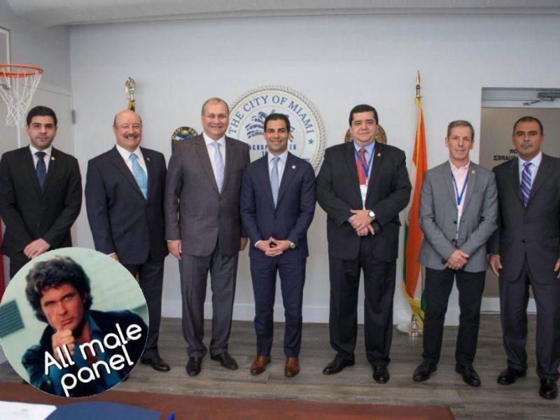 Smart Cities, E-Goverment y Desarrollo de Áreas Costeras serán los ejes de trabajo conjunto entre Miami y Asunción