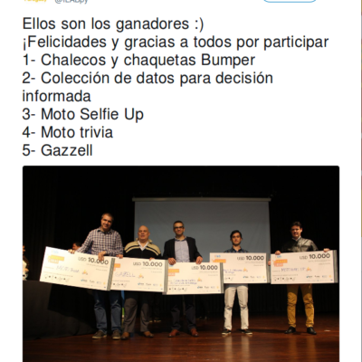 Ganadores 2018 - I-Lab Paraguay on Twitter