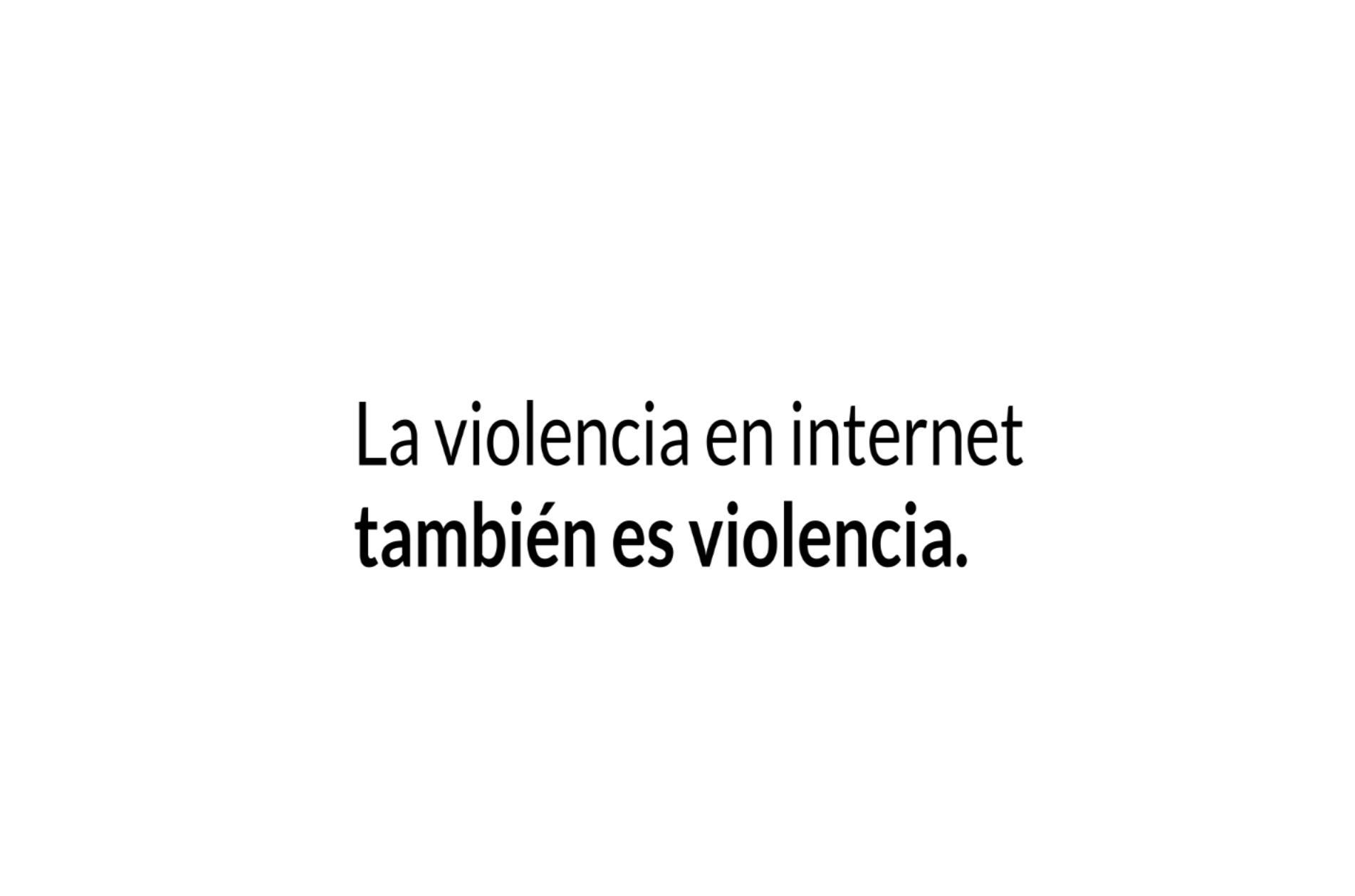 violencia en internet