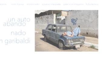 David Amado_Un auto abandonado en Garibaldi